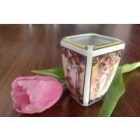 Vaza miniatura ALPHONSE MUCHA - ANOTIMPURILE - Nr catalog 1767 (Produse decorative)