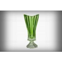 Vaza 40 cm Bohemia cristalit - Venus verde - Nr catalog 2149 (Vaze)