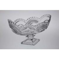 Footed crystal bowl - Catalog No  544