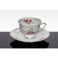 Porcelain coffee set 12 pieces - 6 persons - LAURA - Catalog no 1487