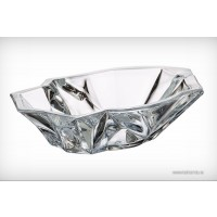 Bohemia crystallite bowl 33 cm - Angle - Catalog no 1926