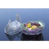Crystal Easter box - Hen - Catalog no1329