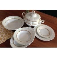 Porcelain table set with toureen 42 pieces - 12 persons - BOLERO PRINCESS - Catalog no 1548