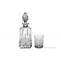 Crystal whisky glasses with bottle set - Precious - Catalog No 1702