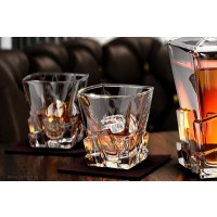 Crystal whisky glasses - Havana - Catalog No 1025