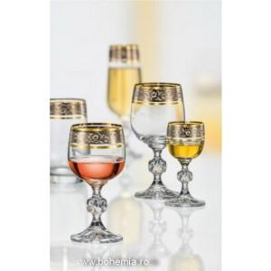 Crystallite set of glasses - Claudia Royal - Catalog no 3165