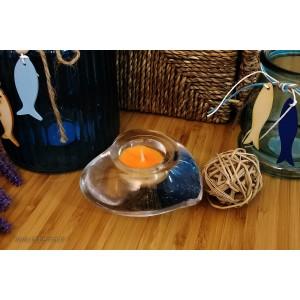 Crystal candlestick - Inima - Catalog no 2828