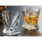 Crystalite whisky glasses - Quadro - Catalog No 1405