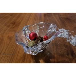 Bol decorat 14 cm Bohemia cristalit - Angle - Nr catalog 2704 (Fructiere - Boluri - Platouri)