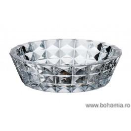 Fructiera Bohemia cristalit 33 cm - Diamond - Nr catalog 1400 (Fructiere - Boluri - Platouri)