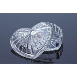 Caseta din cristal inimioara