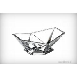 Bol 15.5 cm Bohemia Cristalit - Origami - Nr catalog 2460 (Fructiere - Boluri - Platouri)