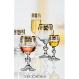 Set de 24 pahare Bohemia cristalit - Claudia Fabulos - Nr catalog 3165 (Pahare)