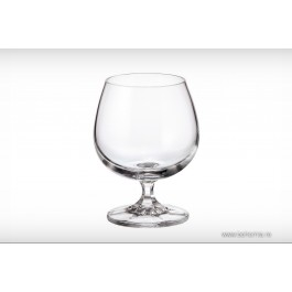 Pahare coniac 250 ml Bohemia cistalit - Falco - Nr catalog 2742 (Pahare)