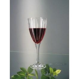 Pahare vin rosu 300 ml din cristal de Bohemia - Caren - Nr catalog 739 (Pahare)