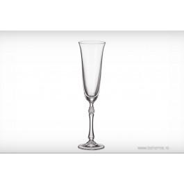 Pahare de sampanie Bohemia cristalit - Parus - Nr catalog 2266 (Pahare)
