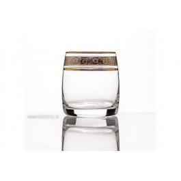 Pahare de whisky Bohemia cristalit - Claudia Royal - Nr catalog 3220 (Pahare)