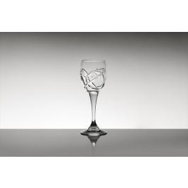 Pahare vin alb din cristal Colecția Tulip 1