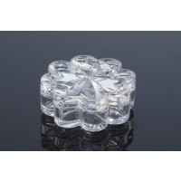 Caseta din cristal Trifoi cu 4 foi