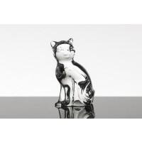 Figurină din cristal Pisică
