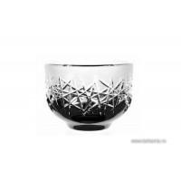Bol 11 cm din cristal de Bohemia - Hoarfrost - Nr catalog 705 (Fructiere - Boluri - Platouri)