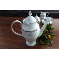Cafetiera din portelan fin - GLORIA - Nr catalog 2023 (Set Servicii Portelan de cafea)