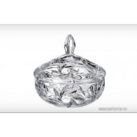 Caseta cristalit Bohemia 15 cm - Ingrid - Nr catalog 2937 (Bomboniere si casete cu capac)