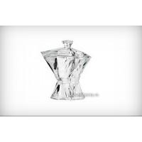 Caseta cu tapla 27.5 cm Bohemia cristal - Angle - Nr catalog 2182 (Bomboniere si casete cu capac)