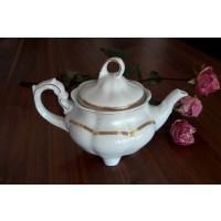 Ceainic din portelan 1.1 l - Bolero Princess - Nr catalog 1638 (Set Servicii Portelan de cafea)