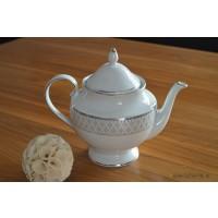 Ceainic din portelan fin 1.2 L - Marie - Nr catalog 2281 (Set Servicii Portelan de cafea)