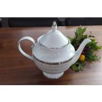 Ceainic din portelan fin - GLORIA - Nr catalog 2024 (Set Servicii Portelan de cafea)