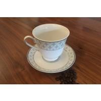 Set de cafea espresso 100 ml 6 persoane - Marie - Nr catalog 2208 (Set Servicii Portelan de cafea)