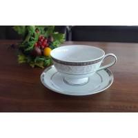 Serviciu de cafea din portelan fin - GLORIA - Nr catalog 1954 (Set Servicii Portelan de cafea)