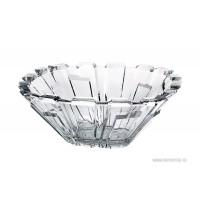 Fructiera 21 cm Bohemia cristalit - Bolero - Nr catalog 2454 (Fructiere - Boluri - Platouri)