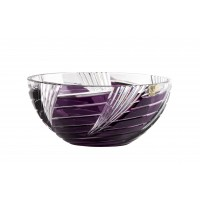 Fructiera 25 cm din cristal de Bohemia - Whirl - Nr catalog 702
