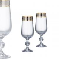 Pahare de bere 280ml Bohemia cristalit - Claudia Royal - Nr catalog 3537 (Pahare)