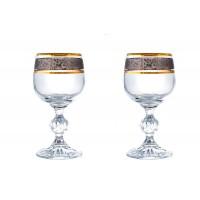 Pahare de tuica/lichior Bohemia cristalit - Claudia Royal - Nr catalog 3539 (Pahare)