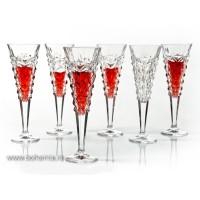 Pahare sampanie 200 ml din cristal de Bohemia - Glacier - Nr. catalog 783