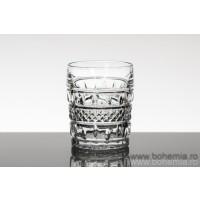 Pahare whisky din Cristal de Bohemia Colecția Brittany