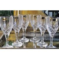Pahare vin alb 240 ml din cristal de Bohemia - Sheffield - Nr catalog 812