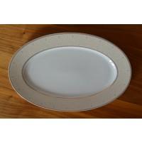 Platou oval 33 cm - Olivia - Nr catalog 2321 (Set Servicii Portelan de masa)