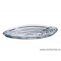 Platou 36 cm Bohemia cristalit - Wave