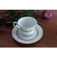 Serviciu de cafea 110 ml din portelan 12 piese - 6 persoane - BOLERO PRINCESS - Nr catalog 1198
