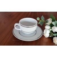 Serviciu de cafea 220 ml 6 persone - Platino - Nr catalog 3255 (Set Servicii Portelan de cafea)