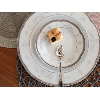 Serviciu de tort 6 persoane - Bolero Festive - Nr catalog 2845 (Set Servicii Portelan pentru tort)