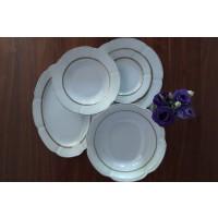 Serviciu de masa din portelan 40 piese - 12 persoane - BOLERO PRINCESS - Nr catalog 1545