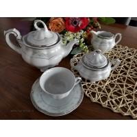 Serviciu de ceai 6 persoane - Bolero Festive - Nr catalog 2884 (Set Servicii Portelan de cafea)