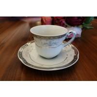 Serviciu de cafea 110 ml - 6 persoane - Bolero Festive - Nr catalog 2798 (Set Servicii Portelan de cafea