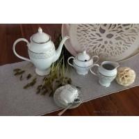 Serviciu de cafea complet pentru 12 persoane - Marie - Nr catalog 2568 (Set Servicii Portelan de cafea)