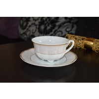 Serviciu de cafea 220 ml 6 persoane - Bolero Jasmine - Nr catalog 2333 (Set Servicii Portelan de cafea)